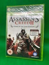 'NEW' XBOX 360/XBOX ONE GAME 'ASSASSINS CREED II GOTY EDITION' FACTORY SEALED.