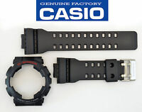 Genuine  Casio GA-110 Watch Band & Bezel Rubber Strap  Black G-Shock GA-110-1A