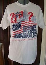 Men's Gildan M 100% Cotton 2012 Democratic National Convention DNC Charlotte NC
