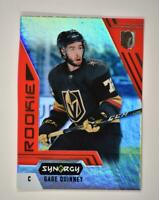 2020-21 UD Synergy Red Bounty Code Rookie #86 Gage Quinney RC - Vegas Golden Kni