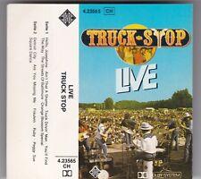 TRUCK STOP - LIVE - MC TELDEC GERMANY © 1978 TAPE CASSETTE RAR!
