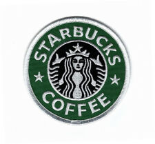 Starbucks Embroidered Iron on Sew on Patch