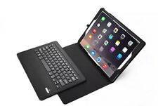 Black Removable Bluetooth Keyboard Leather Smart Case Cover For iPad Pro 12.9""