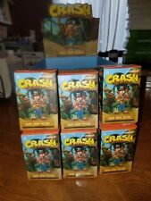 Kidrobot Crash Bandicoot Collectible Vinyl Mini Figure Blind Box Lot Of 6 deal