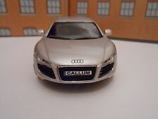 AUDI R8 ANY PERSONALISED PLATES DIE CAST Toy Car MODEL boy BIRTHDAY GIFT