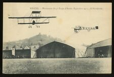 1911 VESOUL France Pioneer Aviation Maneuvers Aeroplane Airplane Postcard