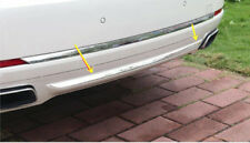Steel Chrome Rear Bumper Bottom Sill Cover for BMW 7 Series F01 F02 2010-2015