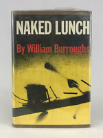 Naked Lunch 1959 William Burroughs 9th Printing Hardcover Book Grove Press