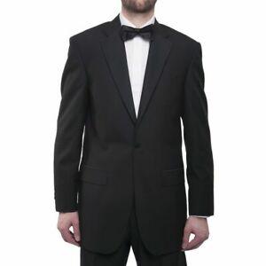 MEN'S BOYS SINGLE BREASTED 1 BUTTON TUXEDO TUX BLACK TIE DINNER FORMAL WEDDING