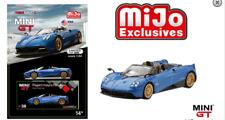 Mini GT Pagani Huayra Roadster Blue MGT00038 1/64