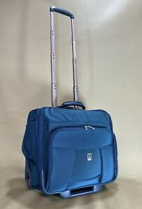 """Travelpro Crew 6 Blue 16"""" Wheeled Carry On Rolling Tote Weekender Bag"""