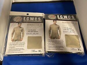 Rothco ECWCS - Gen III - Level 1 - Top & Bottom  - Men's XL - Sand Color -
