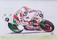 Phillip McCallen Honda Isle of Man TT Moto Carreras de motocicleta tarjeta de cumpleaños