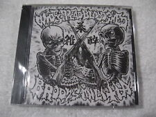 BRODY'S MILITIA / WIDESPREAD BLOODSHED CD Hellnation Antiseen Bruce Banner