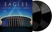 The Eagles - Live From The Forum MMXVIII Exclusive Black Color 2x Vinyl LP