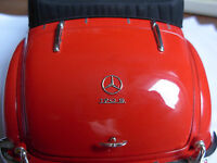 1/24 1/18 1/12 3D-Relief modell Mercedes MB Kofferraum Stern trunk Star Emblem