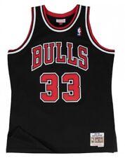 Scottie Pippen #33 Chicago Bulls Mitchell & Ness NBA Mesh Throwback Jersey BLACK