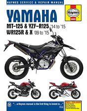 Yamaha WR125R WR125X Manual de taller Haynes Manual De Reparación Manual 2009-2015