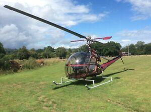 Hiller 12c Helicopter