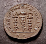CONSTANTINE Takes Rome, Legionary Eagle & Military Vexillae, 312 AD, Roman Coin
