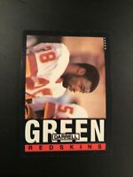 1985 Topps # 181 DARRELL GREEN NFC PRO BOWL  Washington Redskins  Qty Avail
