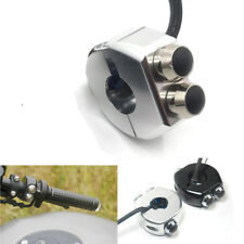 "7/8"" Motorcycle Scooter Handlebar Switch Turn Signal Light Horn Reset Buttons"