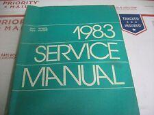 1983 DODGE PLYMOUTH VAN B and PB SERIES MOPAR SERVICE MANUAL