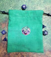The Joker patch dice bag, card bag, makeup bag