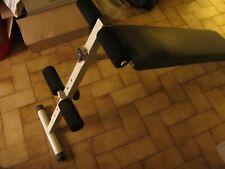 banc de musculation reglable pour abdo occasion