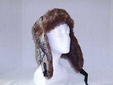 Trapper Bomber Aviator Russian Trooper Fur Earflap Winter Ski Hat