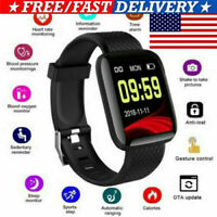 Smart Watch Bluetooth 4.2 Heart Rate/Oxygen Blood Pressure Sport Fitness Tracker