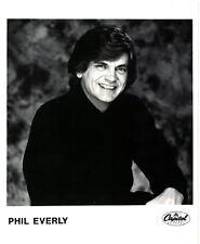 "Phil Everly UK Original Capitol Promo Photo  10"" x  8"""