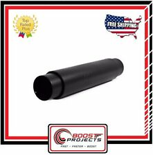 "MBRP Muffler 5"" Inlet /Outlet 24"" Body 31"" Overall, Black Finish M2050BLK"