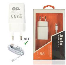 Caricabatterie Casa 1.5A Alimentatore + Cavo Lightning iOs 11 per iPhone 7 PLUS