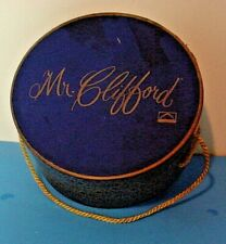 Vintage Mr. Clifford Hat Box With Cord-For Size 6 Hat