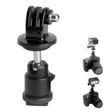 Universal 360° rotation Ball Head Holder Mount For Tripod Hot Shoe Adapter