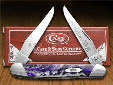 Case xx Muskrat Knife Slant Series Purple Passion Corelon 1/2500 Pocket S9200PP