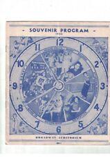Roller Derby Souvenir Program 1940 Broadway Auditorium Buffalo NY Sinclair Bison