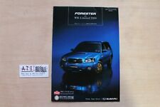 Rare JDM Subaru Forester XT STI Wagon Sales brochure catalogue