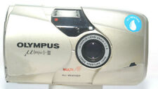 Olympus Mju II Shoot Camera w Zuiko 35mm F2.8 Lens in Working Condition