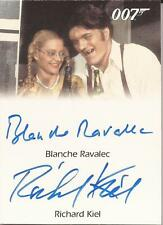 Rittenhouse 007 James Bond Mission Logs Richard Kiel Blanche Ravalec autograph