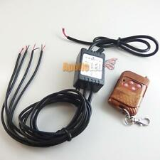 4-Output Strobe Solid Light Control Set w/ Remote for Car LED DRL Retrofit Mods