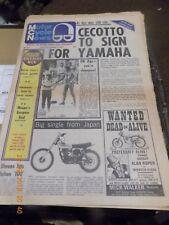 Motor Cycle News/27,8,75/Earls Court show Extra/Honda XL250/Suzuki GT500/