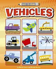 EASY TO DRAW VEHICLES - NEW PAPERBACK BOOK