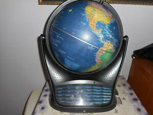 a large educational talking globe.