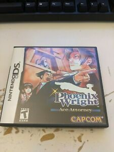 Phoenix Wright: Ace Attorney (DS) Authentic, Tested, Game Case Manual