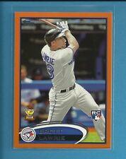 Brett Lawrie RC 2012 Topps Factory Set Orange Rookie # 462 serial #'d /190 Jays