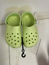 Crocs CLASSIC CLOG Kids Summer Spring Breathable Lightweight Clogs Green M1 W2