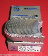 Acl 4B2746A-Std Rod Bearings Ka24De Ka24E Aluglide Ka24 240sx S13 S14 Hardbody