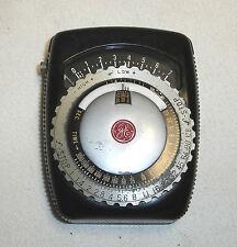 Vintage General Electric Model PR-1 Universal Exposure Meter w/ Leather Case